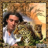 Mon ami le léopard.