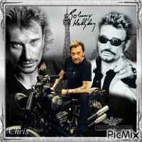 Hommage a se grand Monsieur Johnny Hallyday