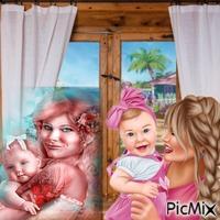 AMIES ET LEUR ENFANT