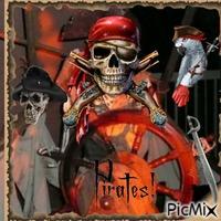 Squelette pirates