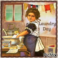 Wäsche waschen im Wandel der Zeit