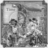 Steampunk manga - Grautöne