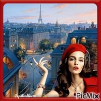 Douceur de toits  de Paris !