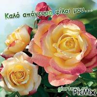 Καλό απόγευμα φίλοι μου...