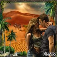 Ballade amoureuse dans le désert