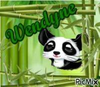 Panda alias Wendine