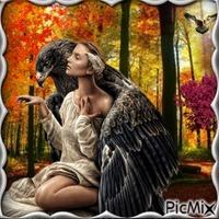 She And The Eagle