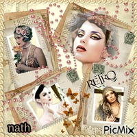 Collage Retro,concours