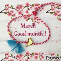 March-Good month.