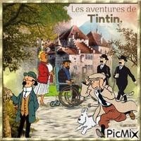 Le petit monde de Tintin.