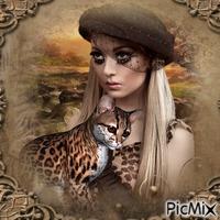 Mon ami le léopard