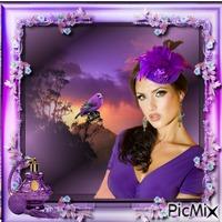 portrait/violet