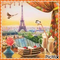 Ein Zimmer mit Blick auf Paris