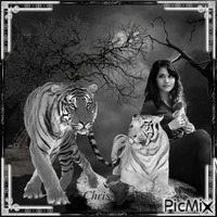 Her and the tigers