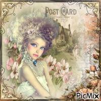 Carte postale vintage