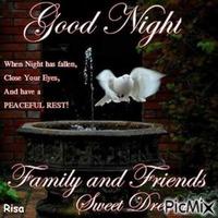Buonanotte amici