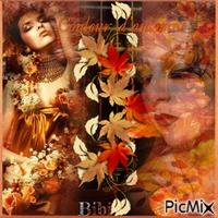Les femmes aux couleurs de  l'automne