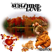 Lives With Sunshine An Hearts With Love