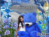 L'ours bleu !