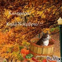 Καλημέρα-Καλό Νοέμβριο!!!