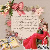 lettre vintage