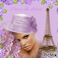 Paris In Lilacs
