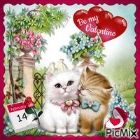 Valentinstagskatzen - Wettbewerb