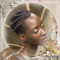 Femme noire.