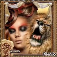 La femme et le lion , concours
