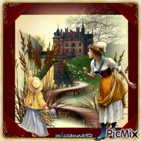 promenade au chateau ,,