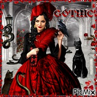 Gothic in Red