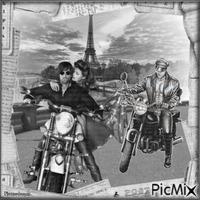 Des bickers à Paris.