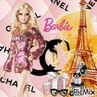 BARBIE CHANEL A PARIS