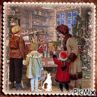 Shop für Weihnachten - Vintage