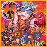 Peace Hippie Love