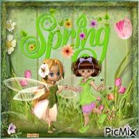 Le printemps qui danse