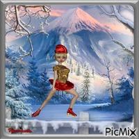 La petite patineuse.