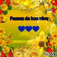 Rêve de fleurs jaunes