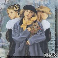 Drei Ladys
