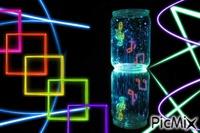neon music jar