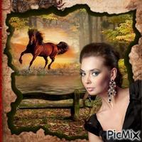 L'amour des chevaux