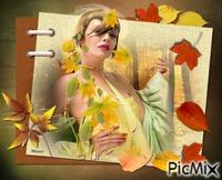 Cadre femme automne