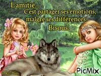 Le loup et les filles