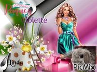 kdo pour mon amie Violette