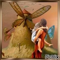 Visite des moulins papillons