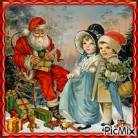 Santa with gifts - Contest