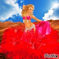 Red genie