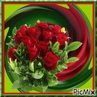 spirale et roses