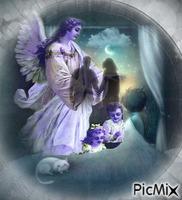 A mão dos anjos.