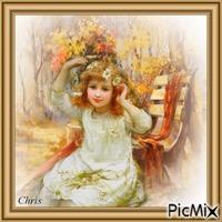 La jeune fille au marguerites